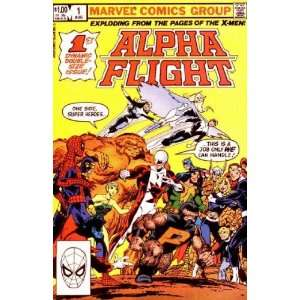 com Alpha Flight 1 2 3 4 5 Comic Books Series 1983 John Byrne Books