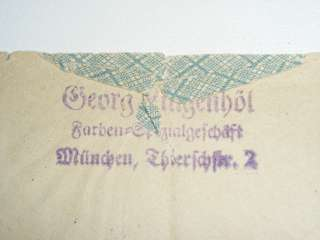 German Pre War Airmail Stamps and Envelope North America