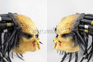 It is 1/6 scale and comes from the original set of Hot Toys 1/6 AVP