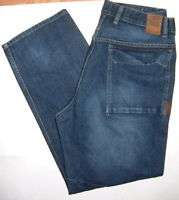 E498 Mens jeans ECKO UNLTD Size 34x31 Crossroads