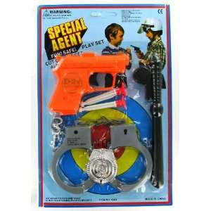 Special Agent Police Set   Fun & Safe Toys & Games