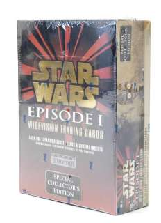 Topps 1999 Star Wars Episode I Special Edition WideVision Cards MINT