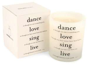 Quotable Candle Dance Love Sing Live by Quotable