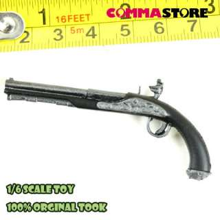 TC47 06 1/6 18th Century Flintlock pistol (Silver)