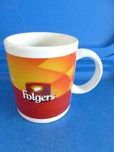 Folgers Coffee Mug Mountain Grown Houston Harvest