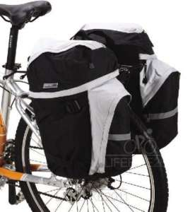 NEW 50L Cycling Bicycle Bag Bike rear seat bag pannier
