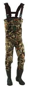 Mad Dog Ducks Unlimited 3.5mm Chest Waders   Sz 8  Color RTMX4