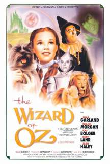 The Wizard of Oz 27 x 40 Movie Poster, Judy Garland , B