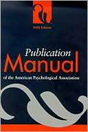 Publication Manual of the American Psychological Association (Spiral