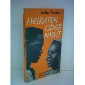 Gespräche und Erfahrungen (9783222107184) Walter Trobisch Books