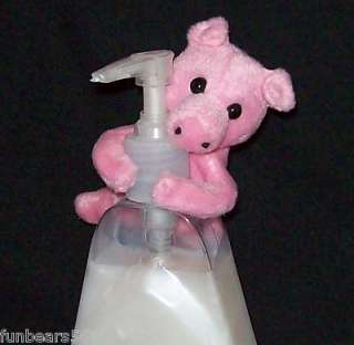 Pink PIG Clasping Hands 5 Mini Plush by Rhode Island Novelty