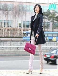 Fashion Korea Style Women Casual Coat Autumn Winter Outerwear Lady