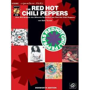 Peppers Guitar Sig Licks (0073999958379) Red Hot Chili Peppers Books