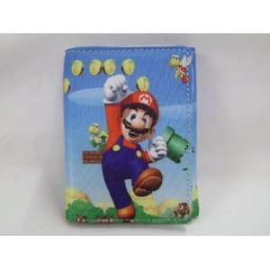 Mario Bro Super World Trifold Wallet Toys & Games