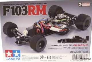 Tamiya 49498 RC F103RM w/Body Set 1:10 (F 103RM RARE)