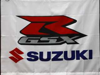 BF061 Suzuki GSX Racing Motorcycle Bike Display Collection Banner 39