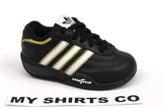 Adidas Racer Plus Original Black/White Toddler 5.5C