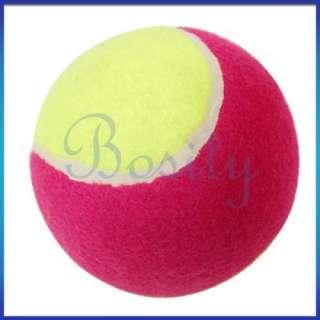 Dog Pet Puppy Cat Training Fun Colors Tennis Toy Ball 4