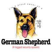 Proud Owner Of A German Shepherd Dog T Shirt Tee Hoodie Tank Top