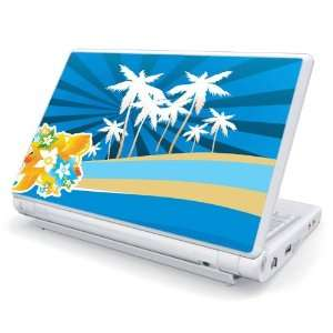 Tropical Station Design Skin Cover Decal Sticker for Acer (Aspire ONE