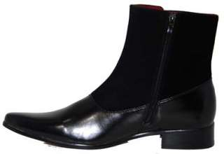 Mens Black Chelsea Boots All Sizes 40 41 42 43 44 45 46