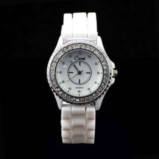 Brand New Women Ladies Mens Rubber Silicon Fashion Quartz Wrist Watch