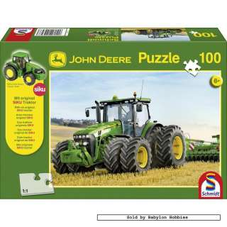 puzzle 100 pcs John Deere   Tractor 8270 with Double Tire