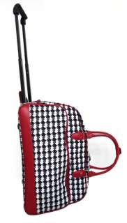 20 Duffel/Tote Bag Rolling Luggage/Wheels Travel Red