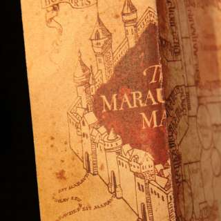 Harry Potter Marauders Map of Hogwarts Castle Beautiful quality