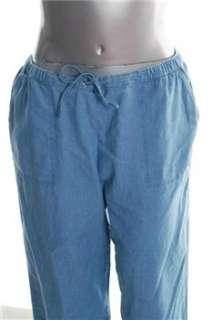 Karen Scott NEW Plus Size Capri Pants Blue BHFO 3X