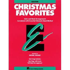 Christmas Favorites   Bassoon   Essential Elements Band