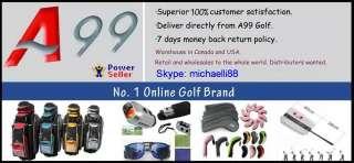 A99 golf 14way full length divider golf cart bag black/red a08
