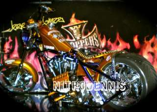 JESSE JAMES 1/5 Diecast West Coast Choppers PENNY SAVED Bike VERY RARE
