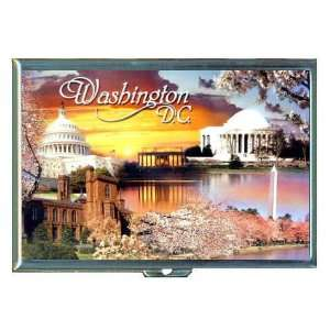 Washington, D.C., Monuments ID Holder, Cigarette Case or Wallet MADE