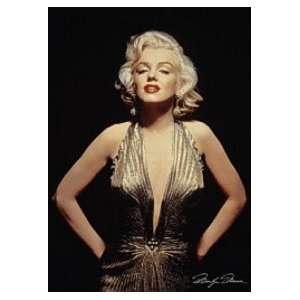 MARILYN MONROE Gold Dress VINTAGE POSTER 26x38 Everything