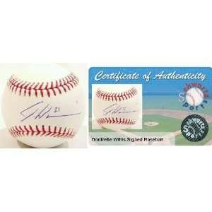 Dontrelle Willis Signed Rawlings MLB Baseball Sports