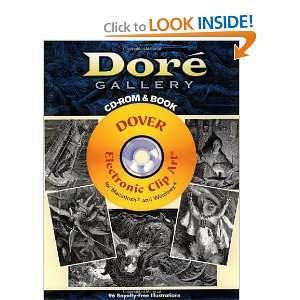 Dore Gallery CD ROM and Book (Dover Electronic Clip Art) Gustave Dore