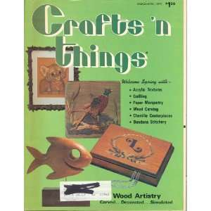 Crafts N Things March 1978 (3) varied, Kay Dougherty Books