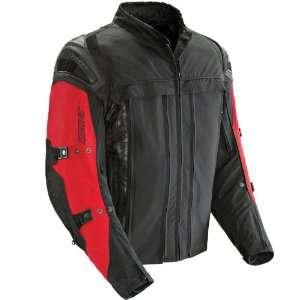 JOE ROCKET RASP 2.0 HYBRID MOTORCYCLE JACKET red/black