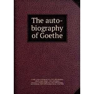 , John H. ; Dana, Charles A. ; Dwight, John Sullivan, Goethe: Books