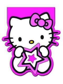 Hello Kitty Pink Stars Birthday Party Mini Notebooks x4 £3.75