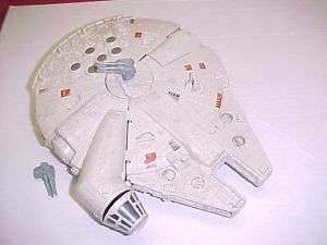 Vintage Star Wars MICRO MILLENIUM FALCON incomplete ~~