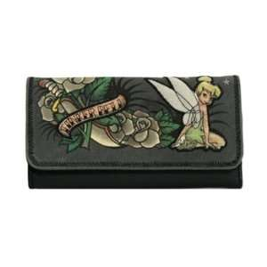 LoungeFly Disney   Tinkerbell Tattoo Art Wallet: Toys & Games