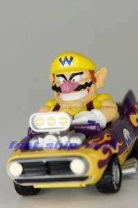 Wario Nintendo Super mario Bros Mariokart figure car
