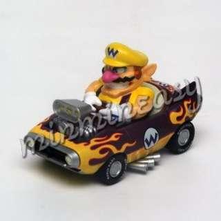 Japan Nintendo Super Mario Kart Car Figure   Wario $