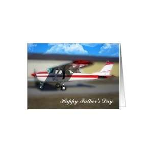 Happy Fathers Day Cessna 150 Pilot Card: Health