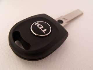 VW TDI Schlüssel Schriftzug Embleme Logo Golf Passat