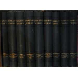 Francis Parkmans Works Twelve Volume Set Books
