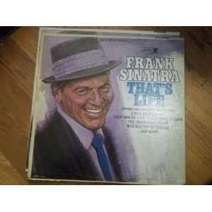 Frank Sinatra thats life(Vinyl Record) Frank Sinatra Music