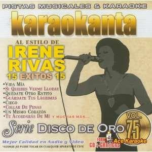 Karaokanta KAR 1775   Al Estilo Irene Rivas   Spanish CDG
